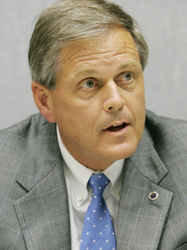 Republican Ralph Norman when he ran for Congress in 2006. He's running again, hoping to use support for Donald Trump to propel him in the primary.