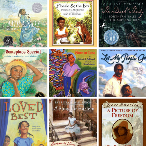 Some of the popular titles of prolific children's book author and St. Louisan Patricia McKissack, who died last week at the age of 72.