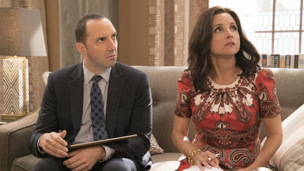 Gary (Tony Hale) and Selina (Julia Louis-Dreyfus) are still together as <em>Veep </em>begins its sixth season.