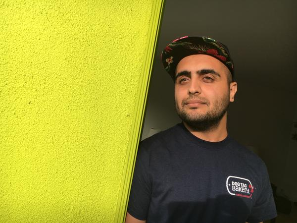 Sham Hasan, an Iraqi, worked with American forces as an interpreter starting in 2010. He was part of efforts to rebuild and train the Iraqi Army and, after the U.S. withdrawal of forces, continued to work for an American contractor in Baghdad.