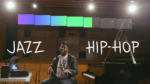 Robert Glasper explains why hip-hop producers gravitate towards jazz samples.