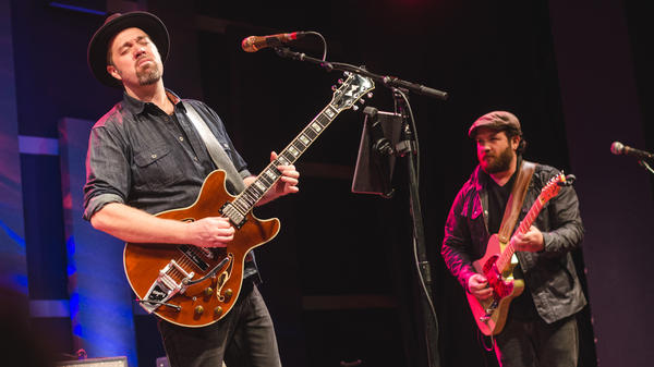 Eric Krasno performs live at WXPN's Free At Noon concert.