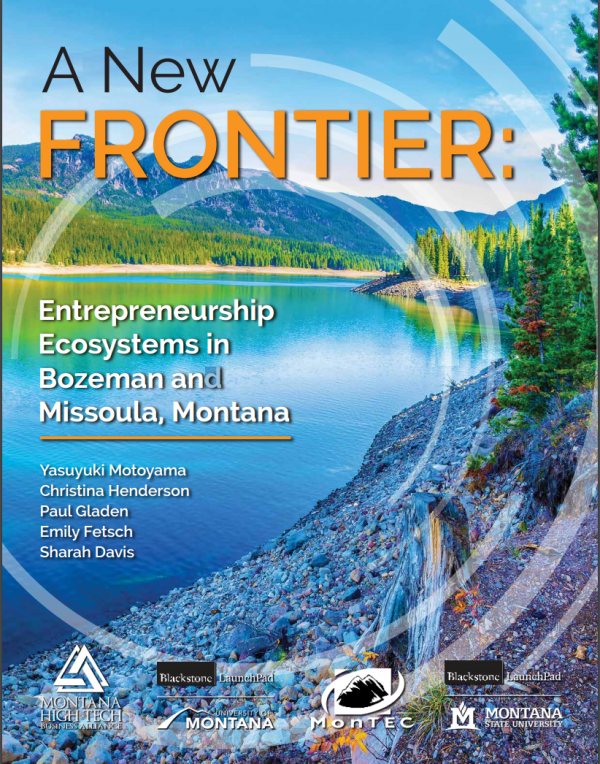 The cover of a new report released by the Montana High Tech Business Alliance Monday