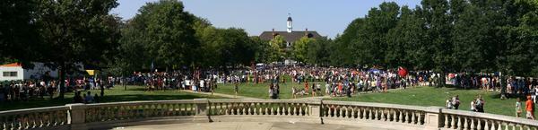 The Quad at the University of Illinois Urbana-Champaign