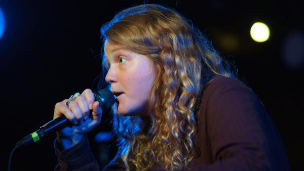 Kate Tempest playing her entire album <em>Let Them Eat Chaos</em> at U Street Music Hall in Washington, D.C.