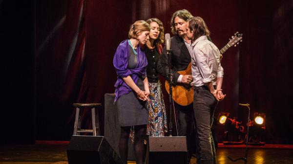 This magic evening, which I was fortunate enough to host with My bubba, Adam Torres and John Paul White ended with the first song John Paul White ever sang into a microphone, 'Stand By Me'.