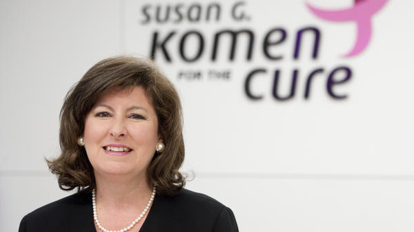 Karen Handel, in a congressional seat runoff, pictured when she was a vice president at the Susan G. Komen for the Cure foundation. She landed in controversy there about Planned Parenthood funding.