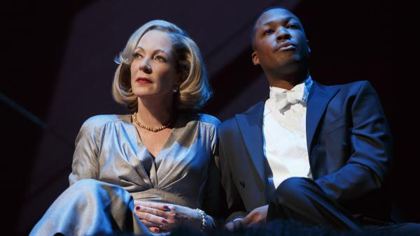 Hawkins stars alongside Allison Janney in John Guare's <em>Six Degrees of Separation.</em>