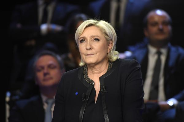 Marine Le Pen is the presidential candidate of the far-right National Front.