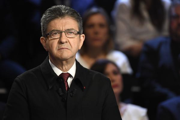 "Jean-Luc Melenchon is the presidential candidate for the far-left coalition La France Insoumise (""Untamed France"")."