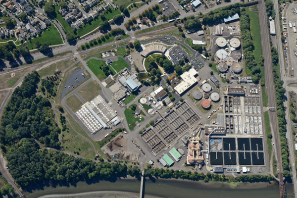 <p>The Columbia Boulevard Wastewater Treatment Plant serves residential and commercial customers in Portland.</p>