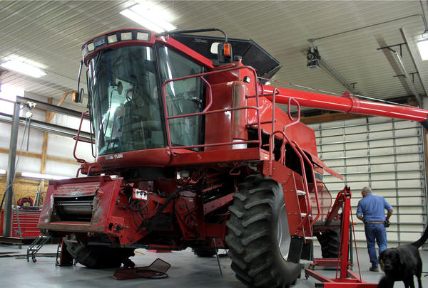 Farmers are used to fixing their own machinery, but without the right software from tractor manufacturers they are effectively locked out of many models.