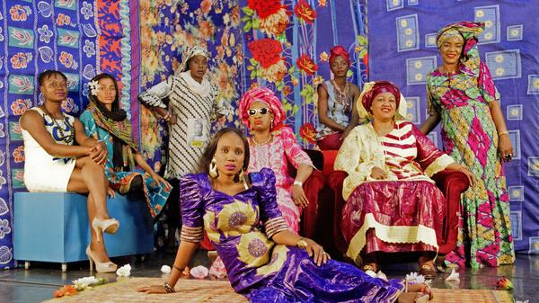 Les Amazones d'Afrique's new album is called <em>République Amazone</em>.