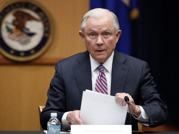 "Hawaii's Democratic lawmakers are criticizing Attorney General Jeff Sessions after he expressed amazement on a radio show that a ""judge sitting on an island in the Pacific"" could stop the president's travel ban. Above, Sessions at the Department of Justice in Washington on Tuesday."
