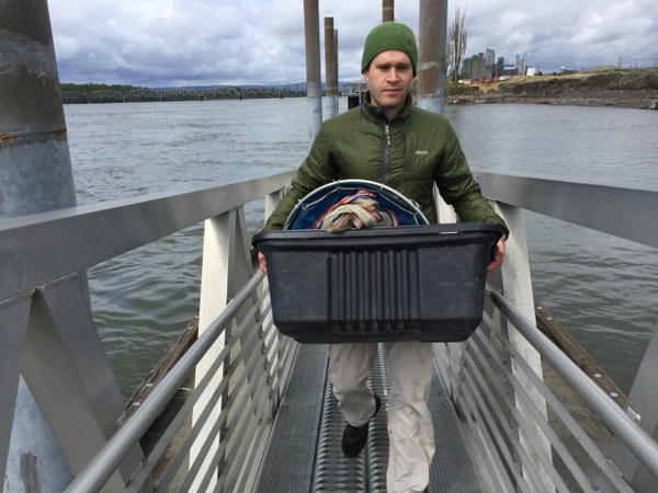 <p>The Trump administration wants to eliminate the program that pays for the Environmental Protection Agency's STAR Fellowship Program, which would put Eric Dexter out of work.</p>