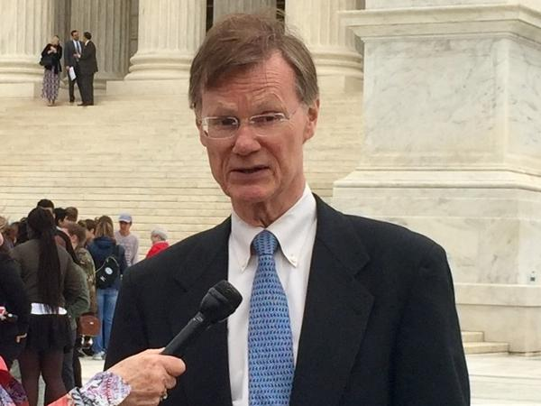 Stephen Bright of the Southern Center for Human Rights argued for James McWilliams before the U.S. Supreme Court Monday.