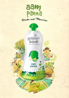 <em>Aam panna, </em>a drink made with roasted green mango was once an integral part of the Indian summer experience. But with more people leading busier lives, few people still make the drink at home. Those who crave the drink now can buy this packaged version by Paper Boat.