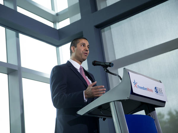 Federal Communications Commission Chairman Ajit Pai launched his net neutrality repeal campaign in a speech Wednesday in Washington, D.C.