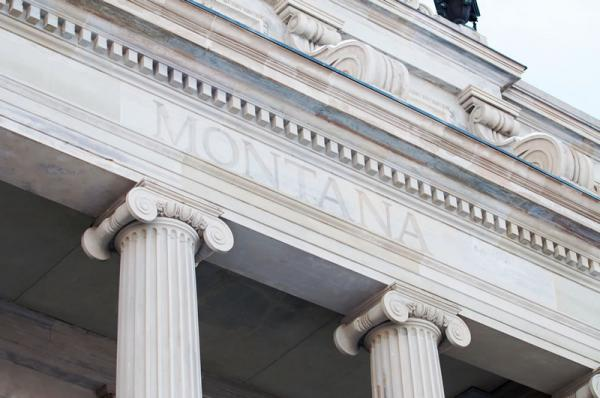 Montana Capitol, Helena.