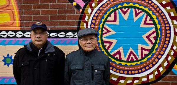 Chinh Dinh and Ly Nguyen arrived in Philadelphia in the 1983 and 1992 as Vietnamese refugees. (Kimberly Paynter/WHYY)