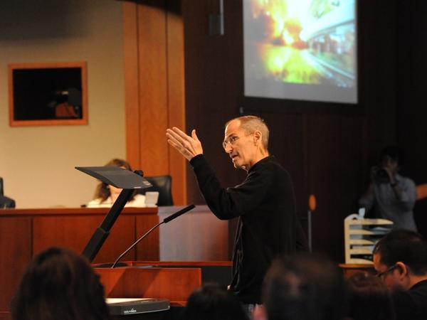 <p>In June, Steve Jobs spoke at a Cupertino City Council meeting to show off his plan for a new headquarters. Even though he was looking quite unwell, he still knew all of the project's details. </p>