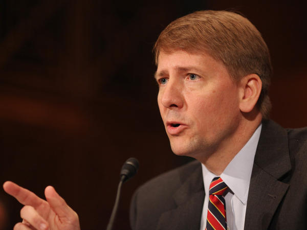 <p>Richard Cordray was approved by the Senate Banking Committee to head the new Consumer Financial Protection Bureau. But Senate Republicans have vowed to filibuster nominees if there aren't changes to the agency.</p>