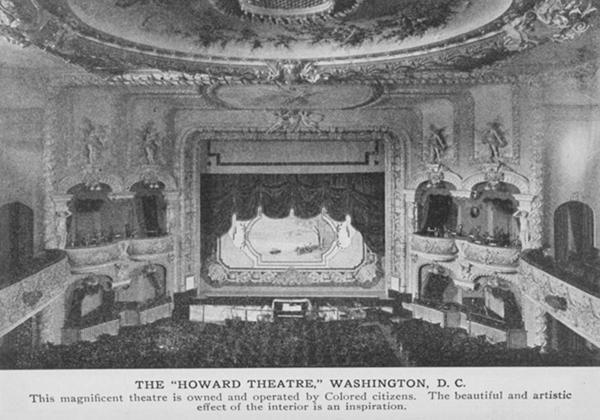 The theater's interior, as it appeared in 1917.