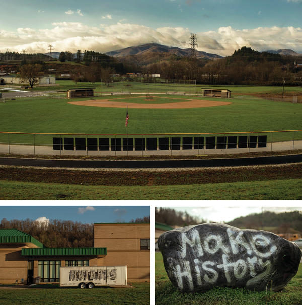Robbinsville High School sits among miles of dense forest and steep mountains in N.C.