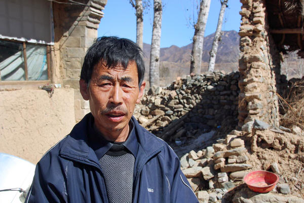 Farmer Ming Jun says he is doubtful that a government plan to integrate Beijing with surrounding cities can lift him and his village out of poverty.