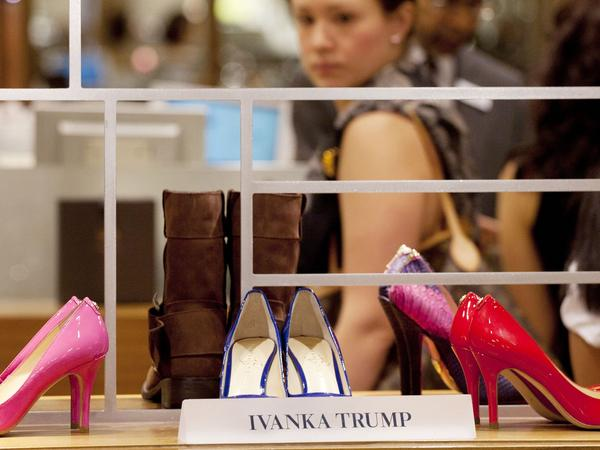 One of Grab Your Wallet's biggest targets is Ivanka Trump and companies that sell her fashion line of clothes, jewelry, shoes and accessories.