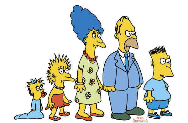 Before Bart, Homer and Marge had their own show, <em>The Simpsons</em> looked a bit different and were segments that were played between <em>The Tracey Ullman Show </em>and commercial breaks.