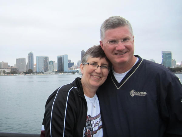 Kurt Hinrichs and his wife Alice in 2015, less than a year after Kurt had a stroke. He recovered after doctors removed the clot that was blocking blood from flowing to part of his brain.