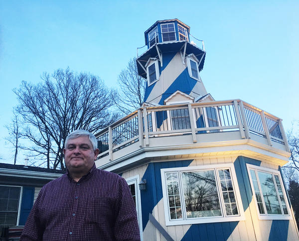 Sixty-one-year-old Tom Zawistowski lives in a house with a lighthouse on a small lake near Akron, Ohio. He's also a Tea Party activist who says he supports President Trump, but he's watching Trump closely to make sure he promotes conservative, Tea Party policies.