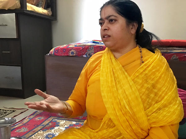 Sadhvi Kamal Didi, president of the women's wing of the National Cow Protection Group, says her members will take the law into their own hands when the police fail to arrive on the scene to enforce cow welfare laws.