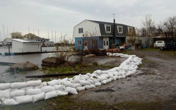 Olcott, NY flooding