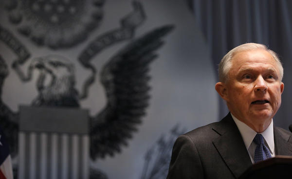 An advocacy group says a move at the Drug Enforcement Administration to hire prosecutors is another signal of how the Justice Department is changing under Attorney General Jeff Sessions.