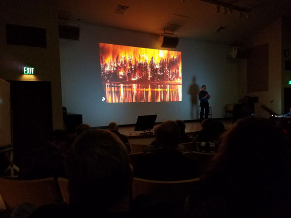 Ecologist Paul Hessburg delivers a multimedia presentation called ''Era of Megafires' that is based on his decades of research.'