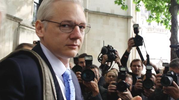 Director Laura Poitras began filming WikiLeaks founder Julian Assange in 2011.