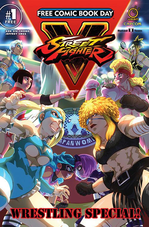 <em>Street Fighter V Wrestling Special</em>