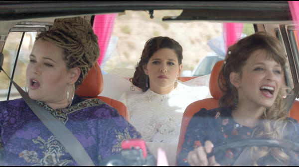 Something <em>alte</em>, something <em>nu</em>?: Ronny Merhavi, Noa Koler and Dafi Alferon in <em>The Wedding Plan</em>.