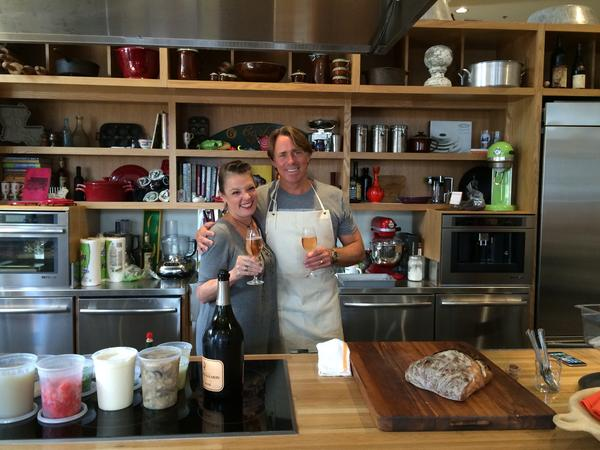 Poppy & Chef John Besh
