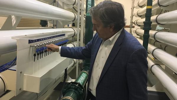 """Clay Duffie of Mount Pleasant Waterworks says in some ways he's pleased the debate over Google's data center is heightening local awareness about the long-term sustainability of the water supply. """"It's raised the issue that these resources are not limitless,"""" he said."""