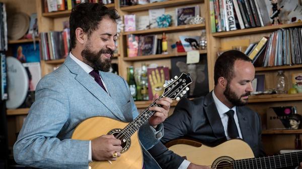 Danilo Brito performs a Tiny Desk concert on April 10, 2017. (Ariel Zambelich/NPR)