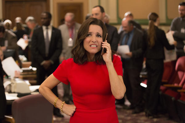 "Julia Louis-Dreyfus has won the ""Outstanding Lead Actress In A Comedy Series"" Emmy five times for her portrayal of Selina Meyer in HBO's <em>Veep.</em>"