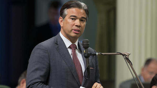 A bill in California that would remove a ban on members of the Communist Party working in state government was sponsored by Assemblyman Rob Bonta, D-Oakland, seen here in 2016.