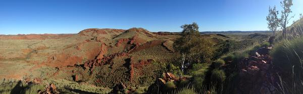 The rock samples were collected from the Dresser Formation at the Pilbara Craton in Western Australia.