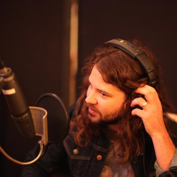 Brent Cobb at EastSide Manor Studios in Nashville, Tenn.