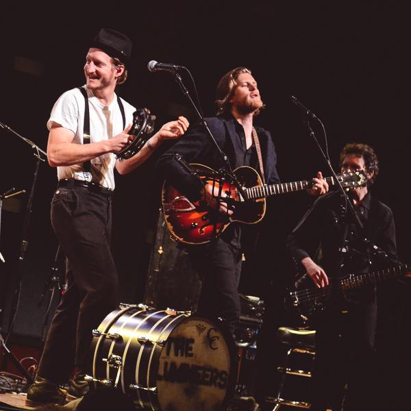 The Lumineers perform for <em>World Cafe</em> at World Cafe Live in Philadelphia.