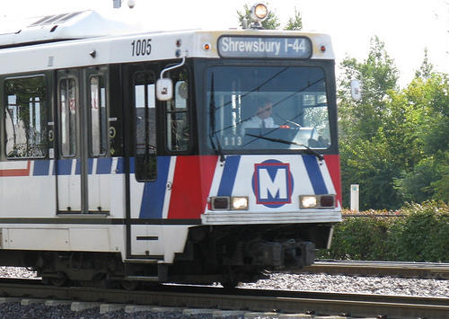 MetroLink is up and running following a crash in Pagedale Wednesday. (St. Louis Public Radio)