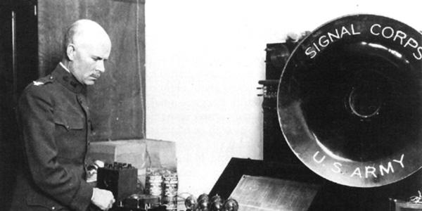Among General George Squier's inventions: the polarizing photo chronograph, also known as the radar gun.